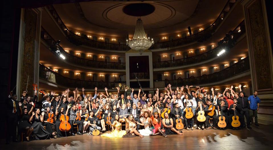 Para comemorar o aniversário do teatro, foi desenvolvida uma programação diversificada distribuída em cinco dias. Foto: Divulgação
