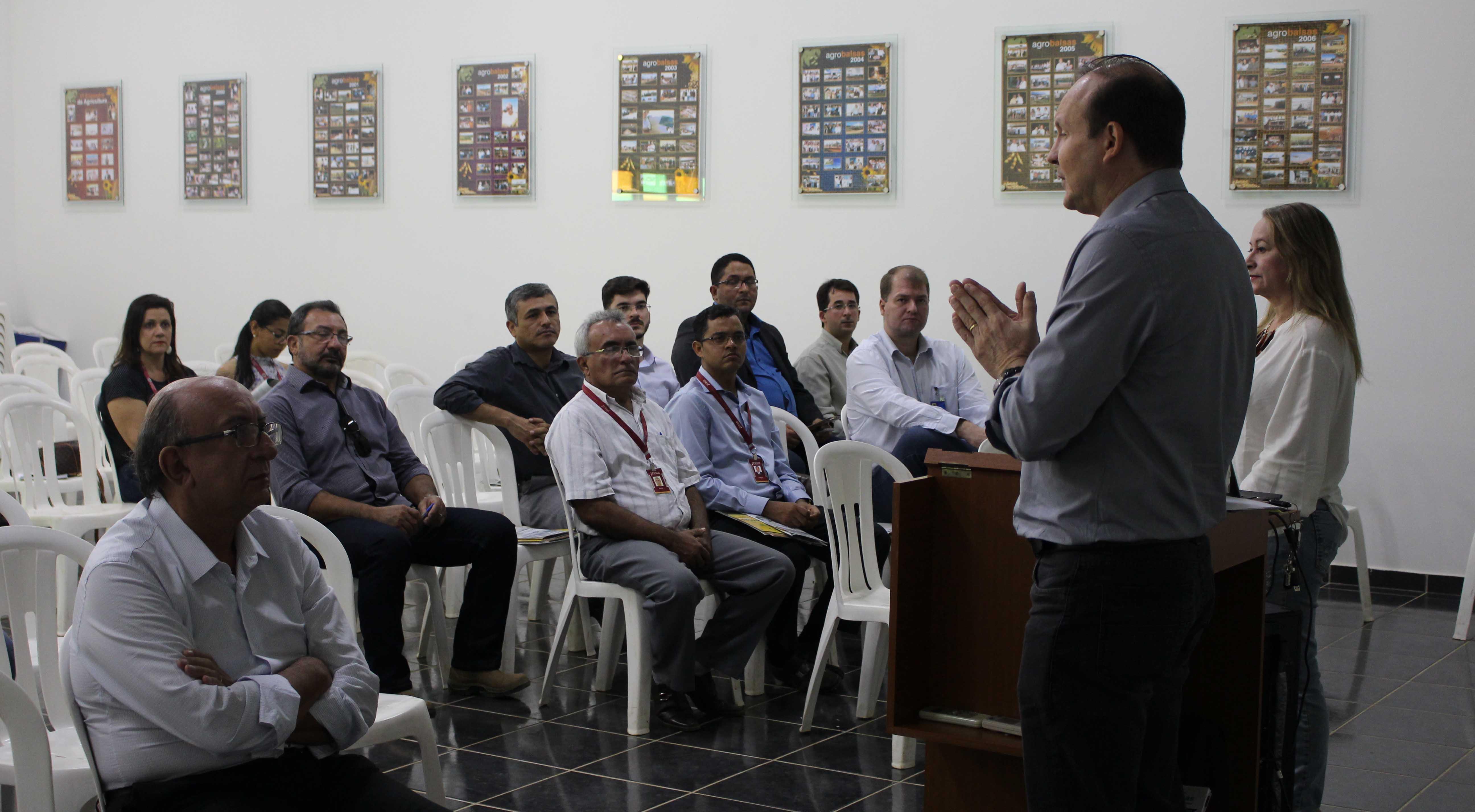 Instalação do agropolo do Rio Balsas foi discutida em reunião com diversas instituições parcerias e representantes da classe produtora. Foto: Divulgação