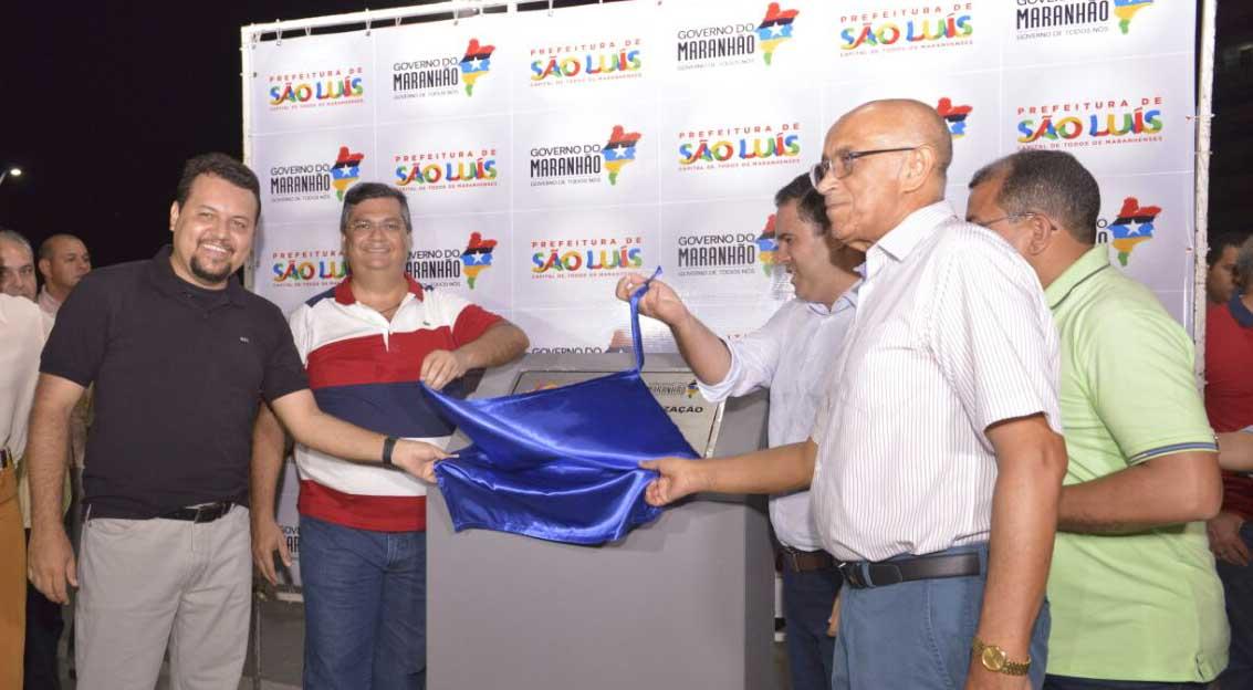 A construção foi realizada pelo Governo do Maranhão, por meio da Secretaria de Estado da Infraestrutura (Sinfra), em parceria com a Prefeitura de São Luís, com investimento de R$ 2,5 milhões. Foto: Nael Reis/Secap