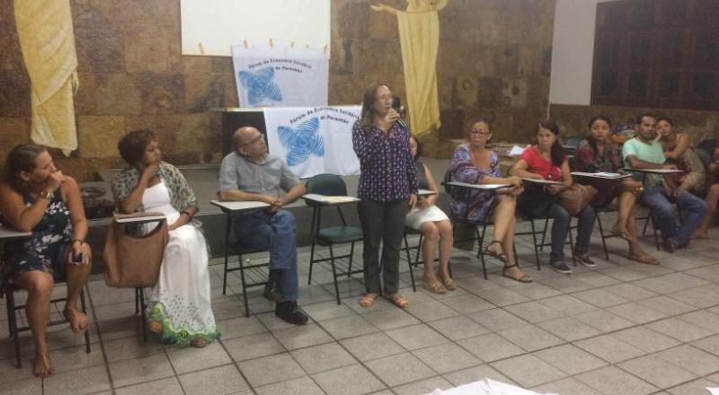 Lançamento do Plano Estadual de Economia Solidária foi realizado nesta quarta-feira (19). Foto: Divulgação